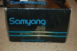 Samsung Macro Zoom lens for Minolta camera