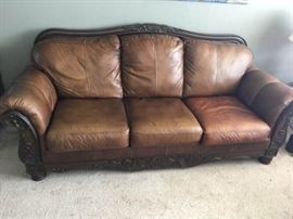KFL002 Beautiful Leather Couch