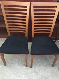 KFL006 Two Sturdy Wooden Chairs