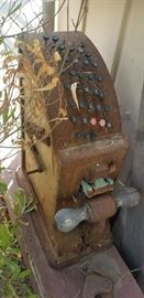Never seen another cast iron national adding machine ??