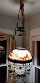 Saloon lamp