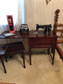 1 of several sewing machines