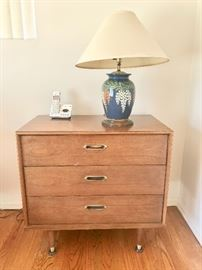 2 mid century night stands or small dresser