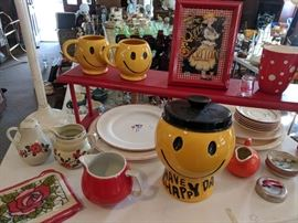 Red and Yellow Kitchenware