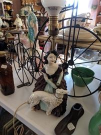 Lamps and decorative items