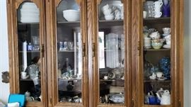 CHINA CABINET BEFORE SET UP