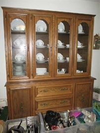 CHINA CABINET AFTER SET UP