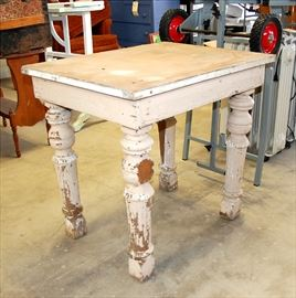 Primitive Country Cottage Table