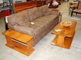 Sofa Couch & End Table
