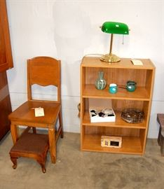 Book Shelf & Vintage Chair