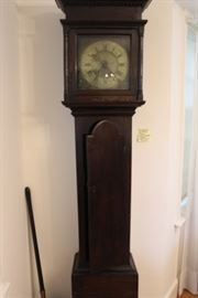 Tall Welsh Clock attributed to David Rowland, early 19th century