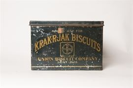 KRAK-R-JAK Biscuits Tin