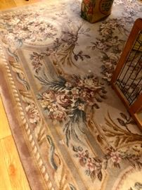 Area rug, dining room