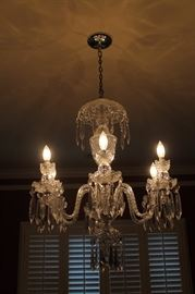 Vintage Waterford Crystal Chandelier