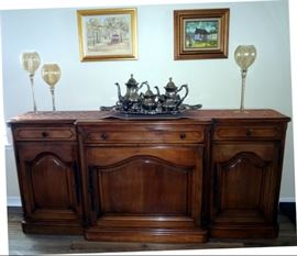 Buffet  from Italy  $350.  80 inches long.