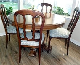 Made in Italy: Table and six chairs  $450.00