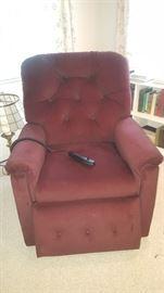 Lift Chair by Lazy Boy-Burgandy