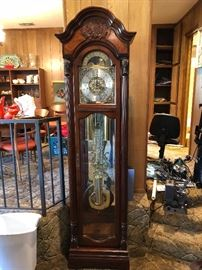 Howard Miller Grandfather clock in excellent working condition!