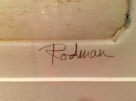 "77. Morning Mist IV Artist's Proof by Rodman (50"" x 38"")"