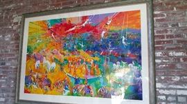 LEROY NEIMAN SIGNED PRINT - ONLY 90 PRINTED
