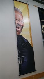BB KING BANNER SIGNED - ONE OF A KIND