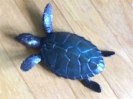 Turner bronze loggerhead turtle