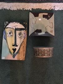 Art pottery and ceramics