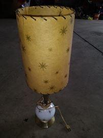 Atomic Mid Century Lamps