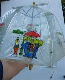 Vintage Sesame Street Umbrella