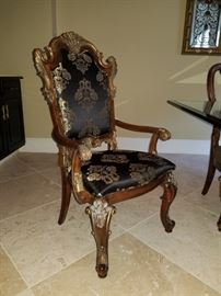 Chairs to dining Table will be priced/sold as pairs and individually!