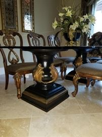 Beautiful Double Pedestal Dining Table! ****THIS ITEM IS AVALIABLE FOR PRESALE**** !  Please contact us!