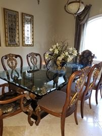 8 Dining Chairs.  They will be priced in pairs as well as a grouping with table! ****This item is available for presale****!
