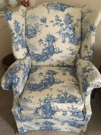 Pair of beautiful chairs in great shape.