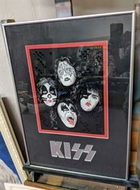Kiss Original Artwork by Ron Shuey