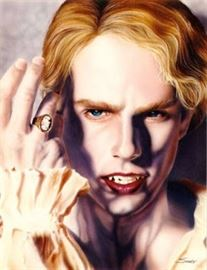 Tom Cruise as Lestat by Ron Shuey