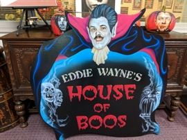 Sign by Ron Shuey of Charlottesville Boo House