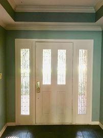 Interior of Entry Door