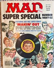 MAD magazine, lower right corner is folded a bit, otherwise pristine condition