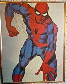 Spiderman poster, vintage!