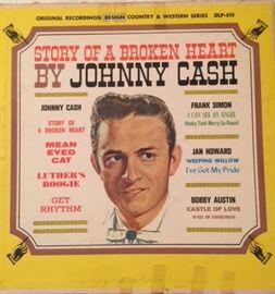 johnny cash, vinyl