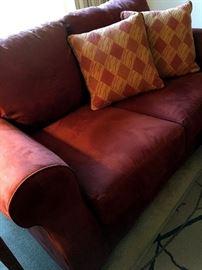A two Cushion Love Seat...