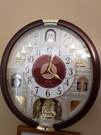 Seiko musical clock