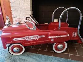 Retro pedal car