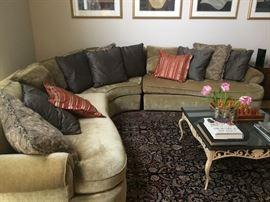 BERNARDT sectional sofa