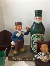 Vintage Bar advertising Heineken Beer Great Condtion
