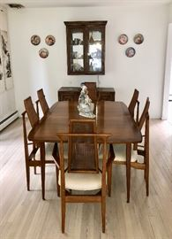 MCM dining table & chairs