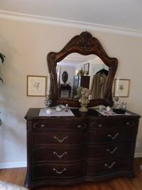 "Jessica McClintock The Romance ""Collection"" Large Dresser.Mirror 4 by 4"
