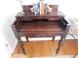 Piano secretary desk