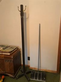 Hall Tree / Coat Rack, Bissel Vanity Sweeper