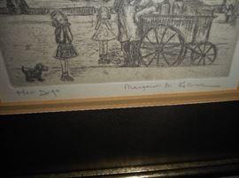 Artist Signed Margaret Kilburn